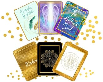 Create your own oracle or affirmation or inspirational card deck