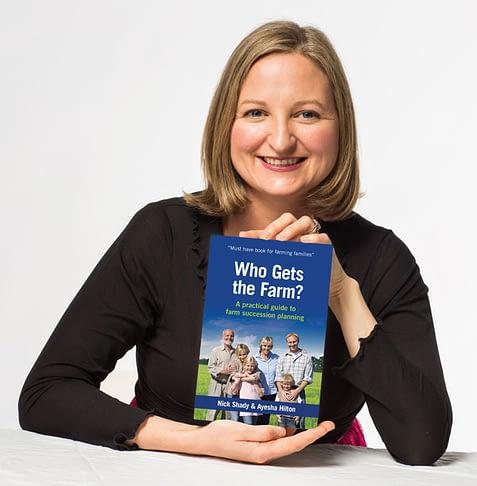 Ayesha Hilton Who Gets the Farm book - farm succession planning